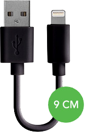 "XQISIT Xqisit 35"" microUSB Charge and Sync Cable"