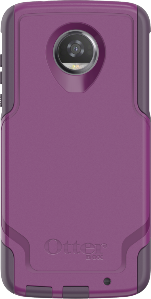 Motorola Moto Z2 Play Commuter Case - Plum Way/Plum Haze/Night Purple