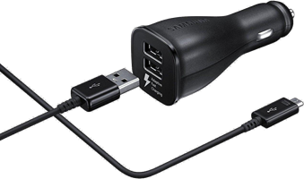 Samsung Car Charger AFC Type C Dual USB 2A