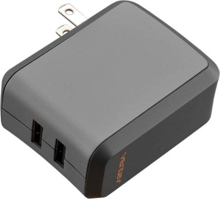 Ventev Dual 2.4A Wallport Wall Charger.
