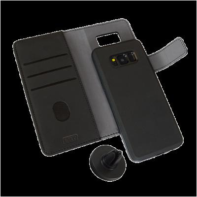 Libratel Galaxy S8 Switch Wallet Case - Black