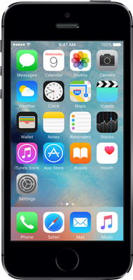 Apple iPhone 5s  - Space Gray -16GB - Refurbished