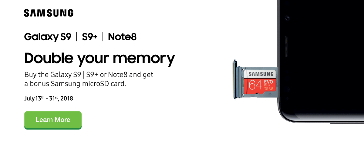 Samsung Double Your Memory GWP Offer