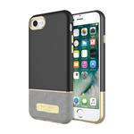 iPhone 7 Sugar Paper 2pc Case - Black/Stripe