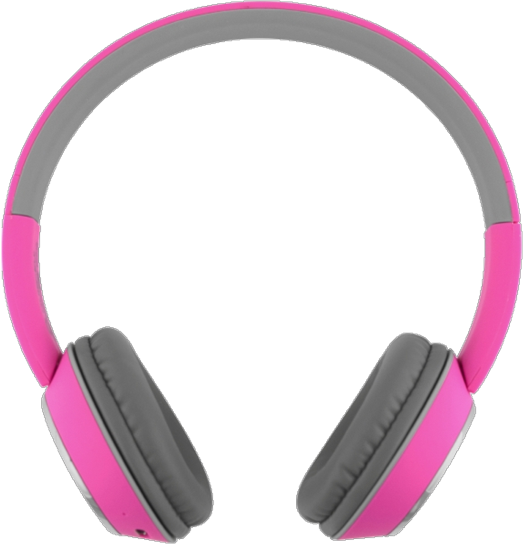 Color Burst Harmonize BT On-Ear Headset - Pink