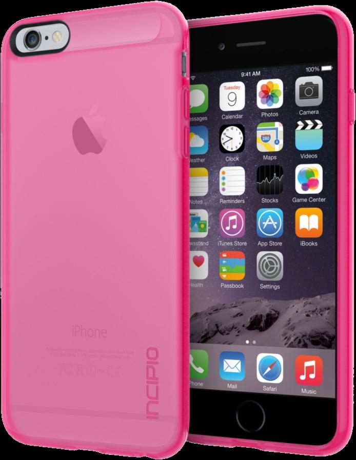 iPhone 6/6s Plus NGP Translucent Case - Pink