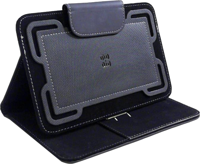 "Universal Folio Case For 7-8"" Tablets - Black"