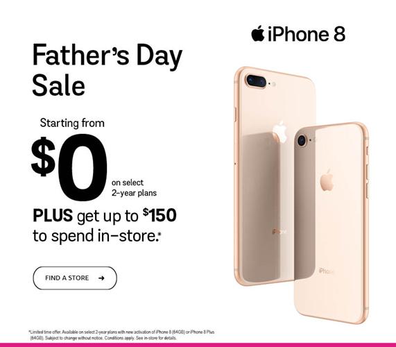 iPhone 8 - a partir de 0 $