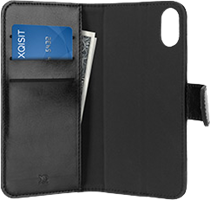 XQISIT iPhone X Eman Magnetic Wallet Case