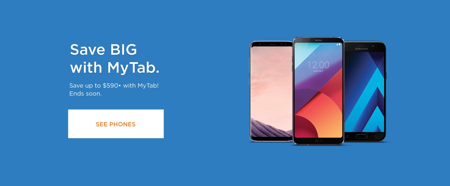 Save BIG with MyTab