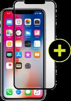 Gadgetguard iPhone X Black Ice Plus Cornice Curved Edition Screen Guard
