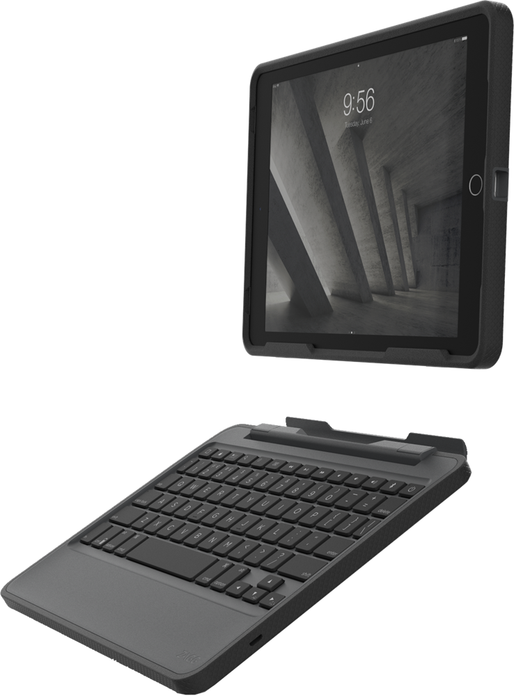 Zagg Ipad 9 7 Air 2 Rugged Book And Keyboard Case