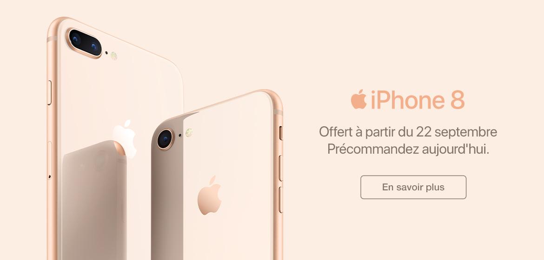 Precommandez iPhone 8 Wave Sans Fil