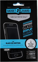 Gadgetguard LG K20/Harmony/Grace LTE Black Ice Edition Tempered Glass Screen Guard