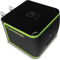 PureGear 2.4A USB Extreme Travel Charger with Quick Charge 2.0