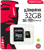Kingston 32GB UHS-I Class 10 3microSDHC Canvas Select Flash Card