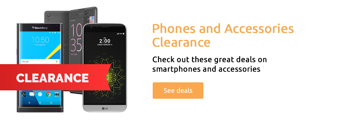 Phones and Accessories Clearance