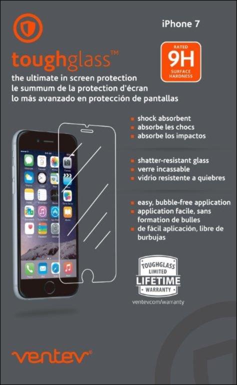iPhone 8/7 toughglass Screen Protectors - Clear