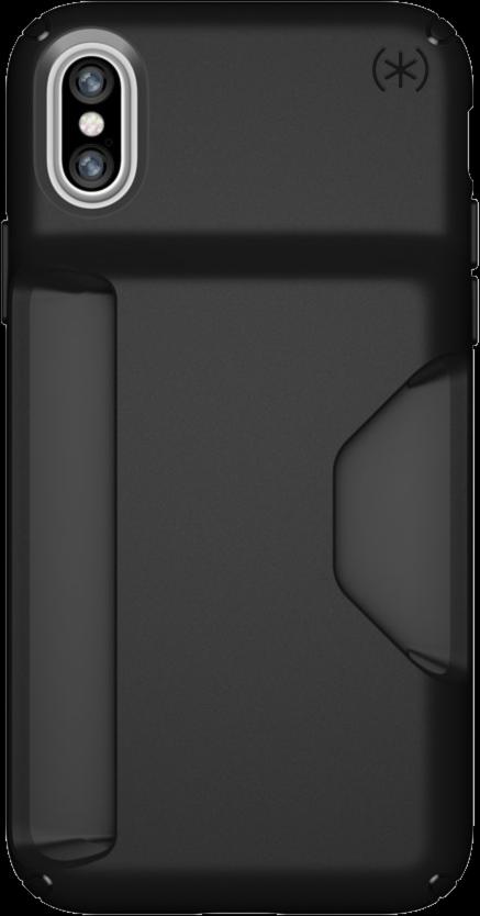 iPhone X Presidio Wallet Case - Black