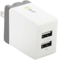 Muvit 2.4A Lightning Wall Charger w/ Extra USB