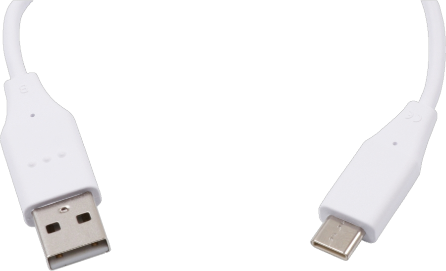 LG USB-A to USB-C cable - White
