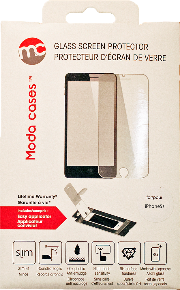 moda protecteur d 39 cran de verre pour iphone 5s prix et caract ristiques. Black Bedroom Furniture Sets. Home Design Ideas