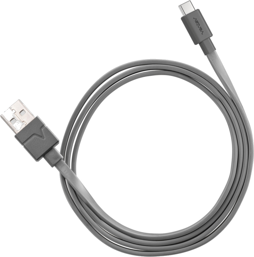 Ventev 6ft Type A-> C 2.0 Chargesync Cable - Gray
