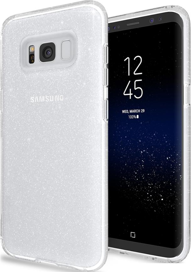 Galaxy S8 Matrix Sparkle Case - Snow