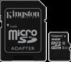 Kingston Class 10 Gen 2 microSDHC Flash Card