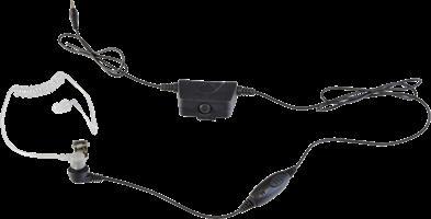 Milicom Smart 2-in-1 Acoustic Tube Surveillance Headset
