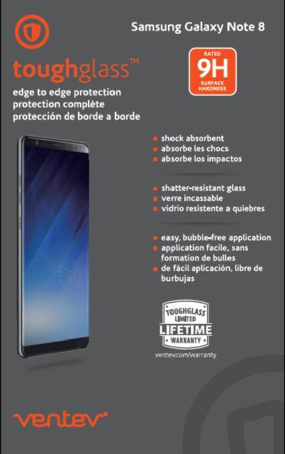 Galaxy Note8 edge to edge toughglass
