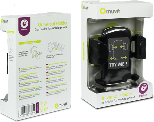 Muvit Universal Air Vent Car Holder