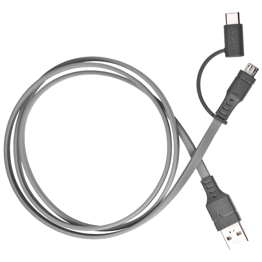chargesync 2-in-1 ventev cable - Gray
