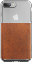 Nomad iPhone 8/7/6s/6 Plus Leather Clear Case