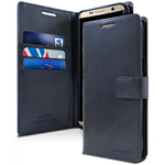 Goospery Galaxy S8+ Bluemoon Wallet - Navy Blue