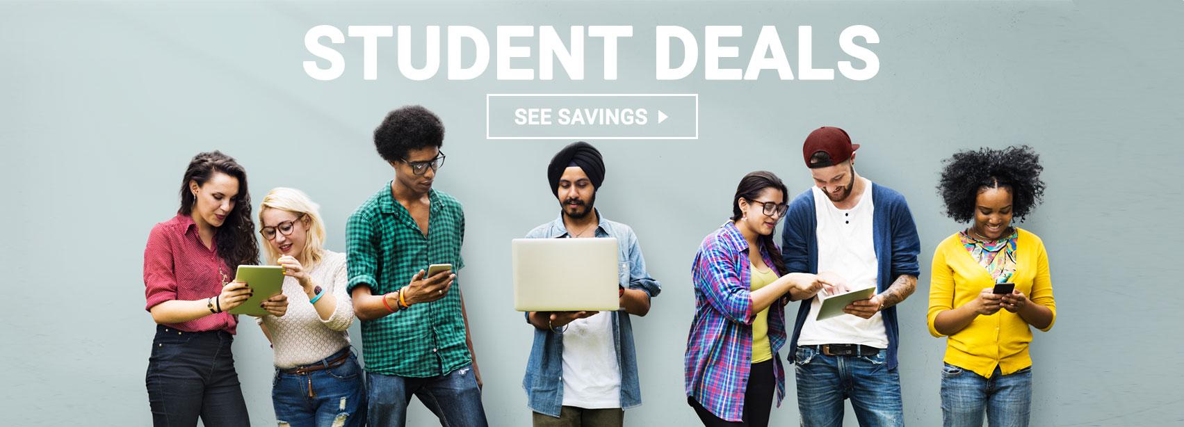SaskTel Student Deals