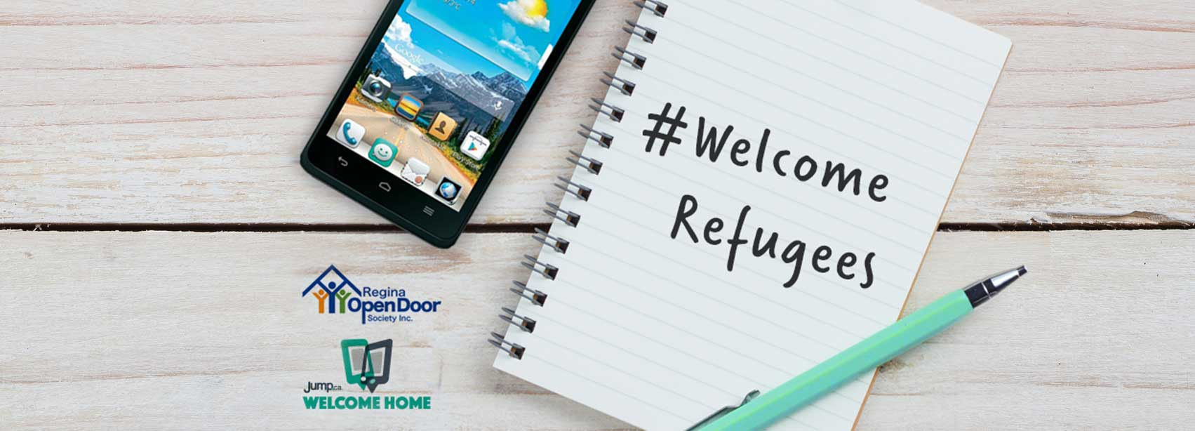 Welcome Home program to provide smartphones to Syrian refugee families
