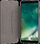 XQISIT Galaxy A8 (2018) Xqisit Adour Flap Cover Case