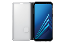 Samsung OEM Neon Flip Cover - Galaxy A8 (2018), Black