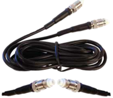 weBoost Cable 6' adapter extension coax RG174 female for direct connect amplifiers