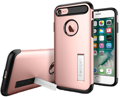 Spigen iPhone 8/7 Slim Armor Case with Kickstand