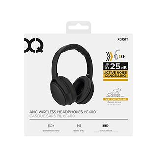 bdec0ac6089 XQISIT OE400 Active Noise-Cancelling Over-Ear Bluetooth Headphones ...