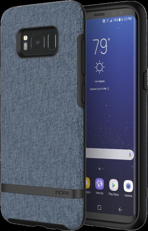 Galaxy S8 Esquire Series Case - Blue