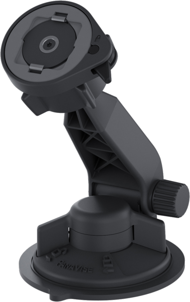 LifeActiv Suction Mount with QuickMount - Black