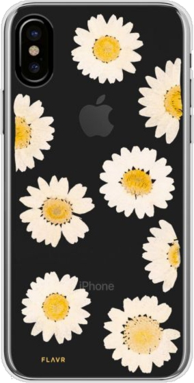 iPhone XS/X iPlate Real Flower Case