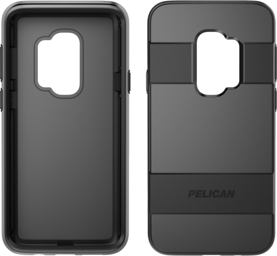 Galaxy S9+ Voyager Rugged Case With Kickstand Holster/Screen Protector