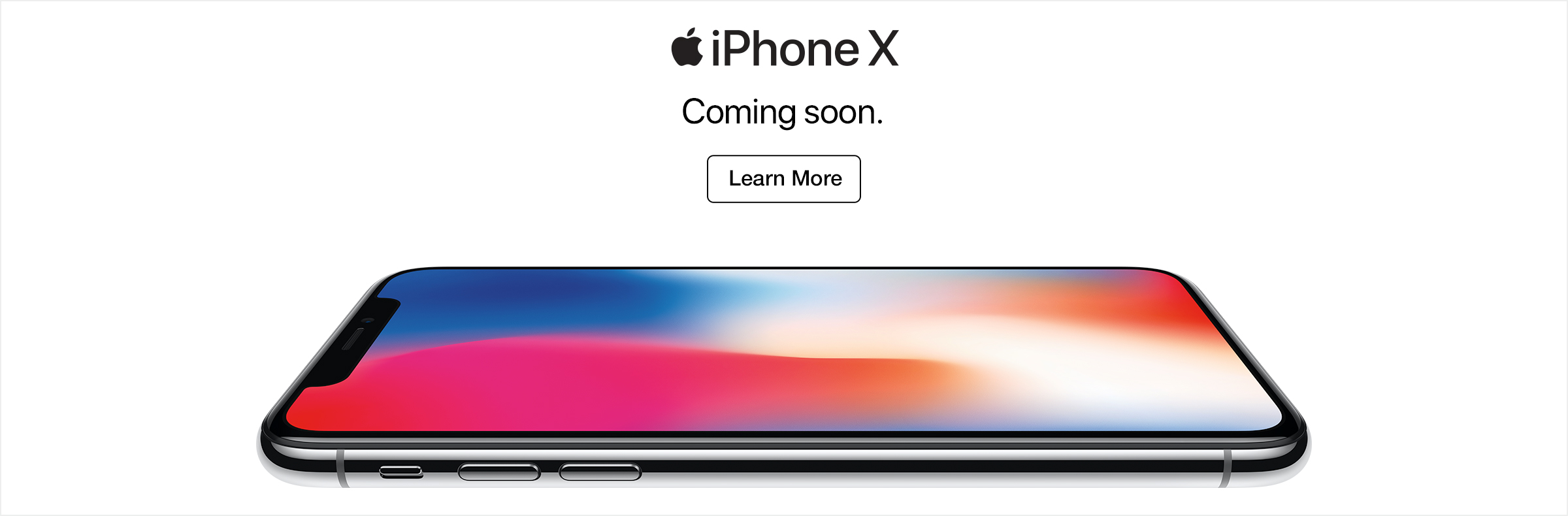 iPhone X Coming Soon to Tbooth wireless