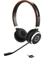 Jabra Evolve 65 Stereo Bluetooth Headphones
