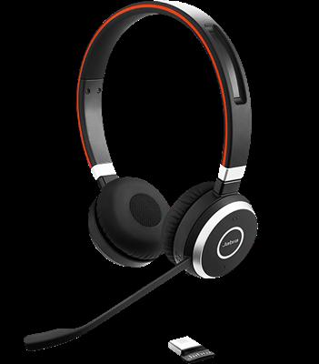 Jabra Evolve 65 Stereo Bluetooth Headphones