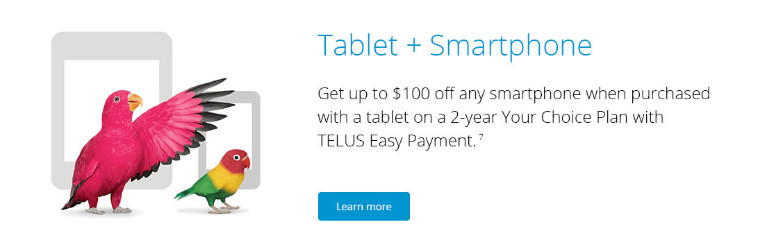 Tablet and Smartphone Promotion